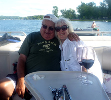 E-16 2013 PontoonTieUp_Bert_and_June