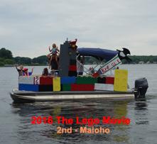 BWLA Boat Parade 2016 2nd Legos-Maioho