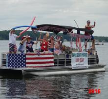 Boat Parade 2016 Lead Boat 221-203-1